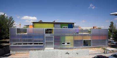 El uso de las placas de policarbonato en la arquitectura y la construcción