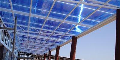 El uso de las planchas de policarbonato en la industria